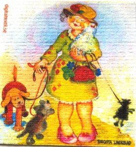 Birgitta Lindeblad - disktrasa - Hundpromenad
