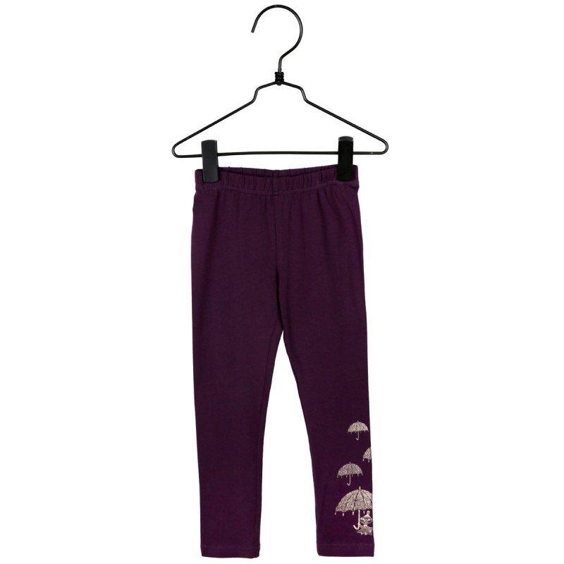 Mumin - Eldig leggings, plommon