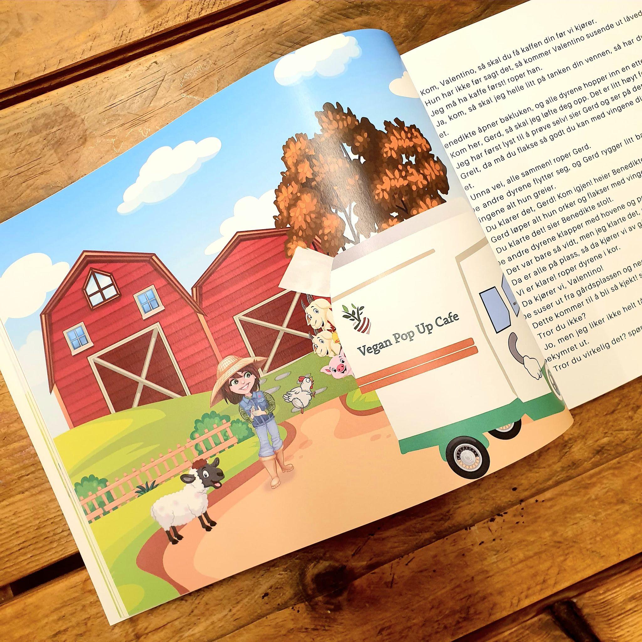 Stor barnebok 3 historier