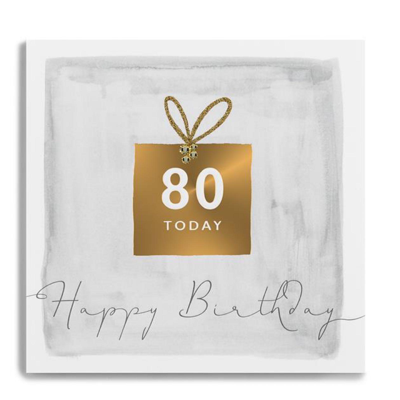 Janie wilson 80 card