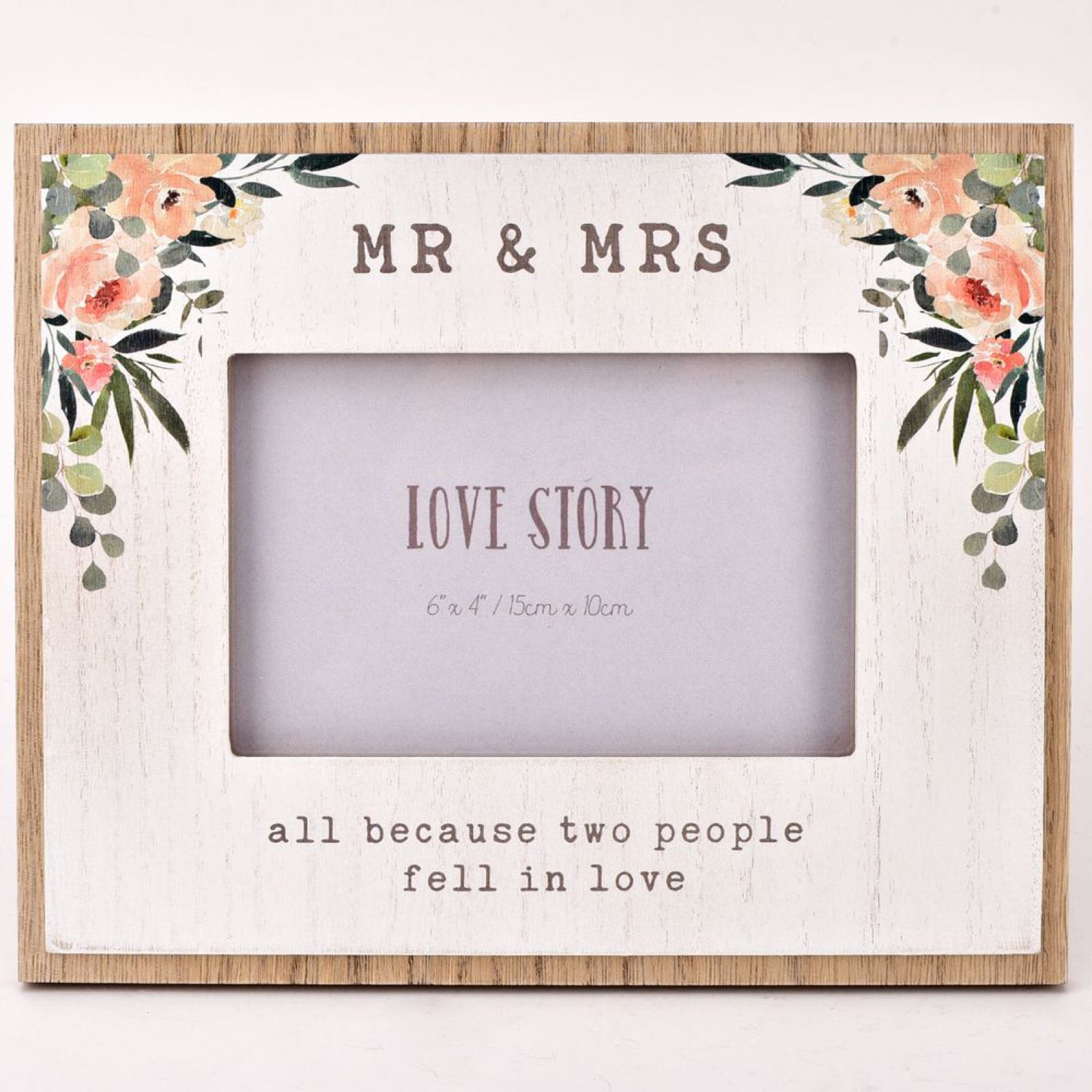 "Mr & Mrs 6""x4"" Photo Frame"