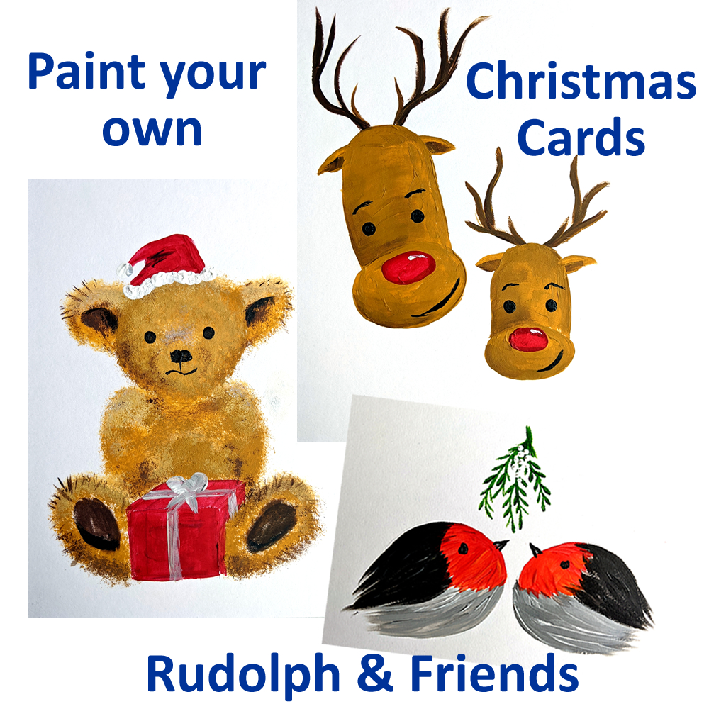 Christmas Card Painting Kit