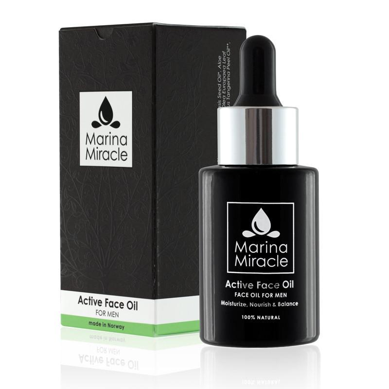 Active Face Oil FOR MENN