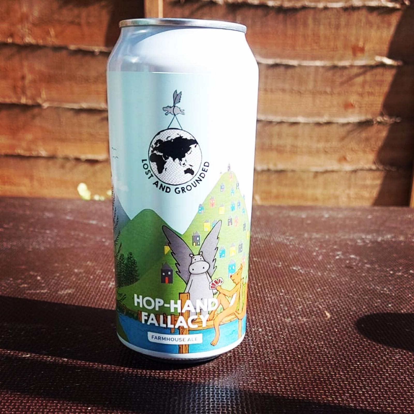 Lost & Grounded Hop Hand Fallacy Farmhouse Ale 4.4%