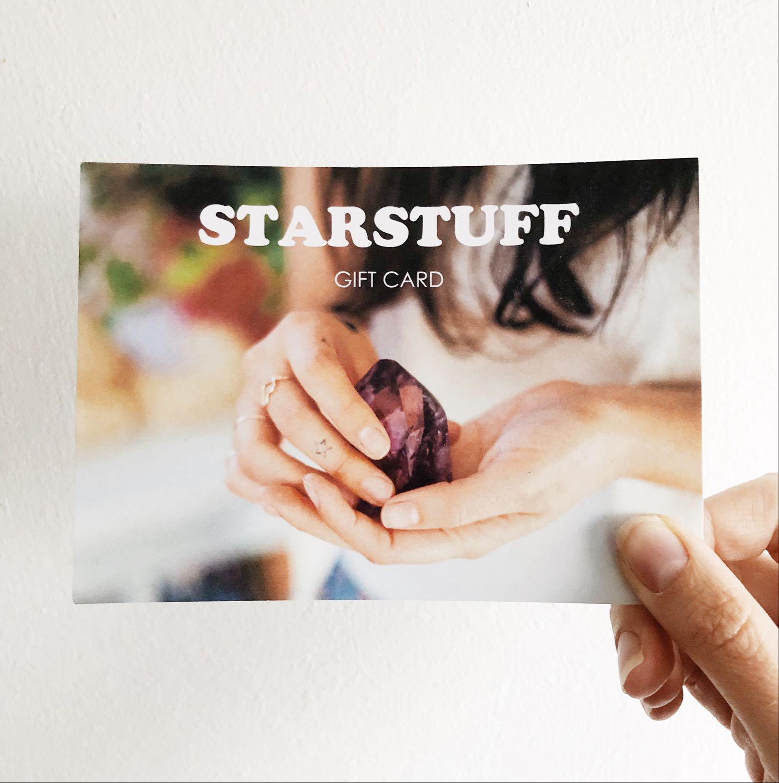 Starstuff Gift Card