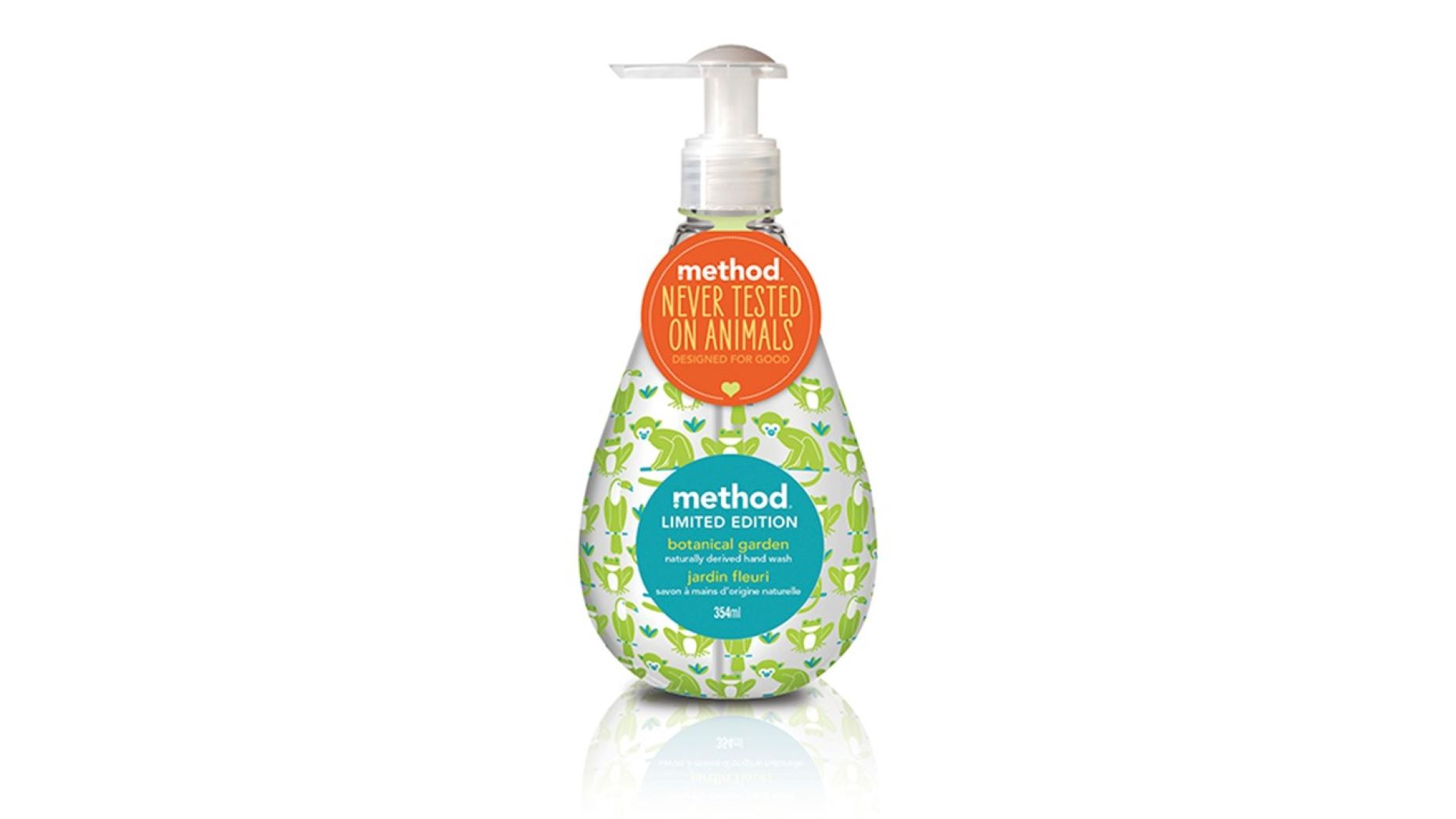 method Nestesaippua Botanical Garden 354ml