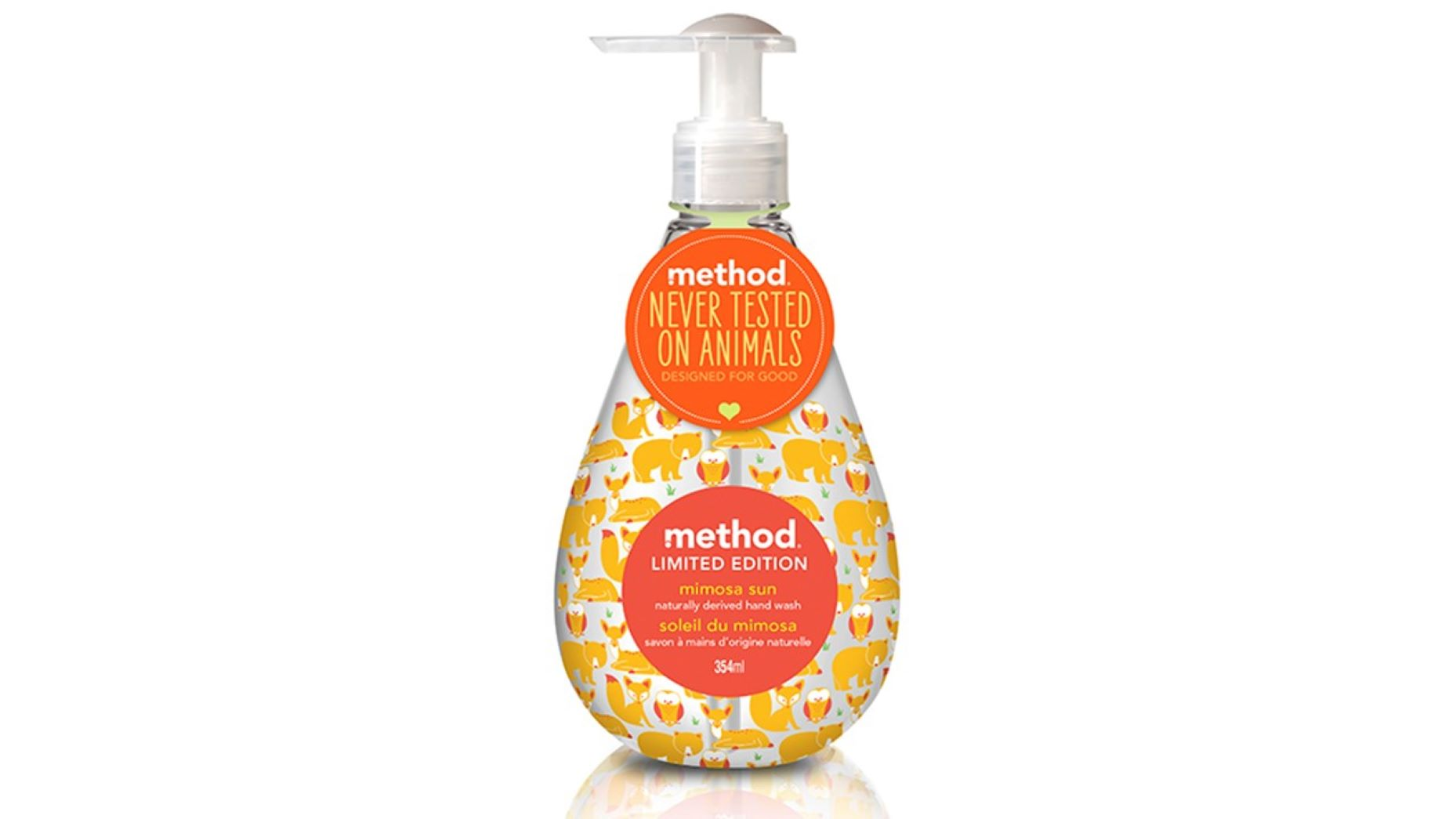 method Nestesaippua Mimosa Sun 354ml