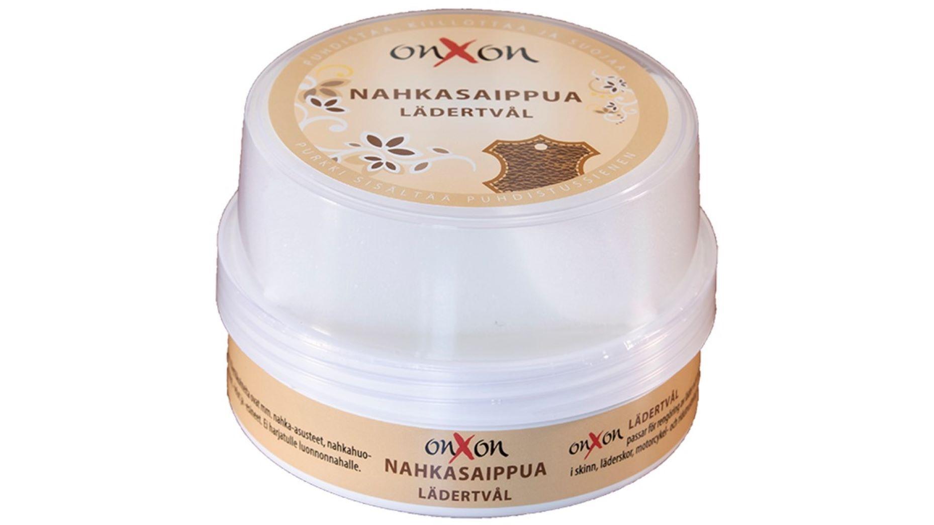 OnXOn Nahkasaippua - Nahan ja puunpuhdistusaine 160g