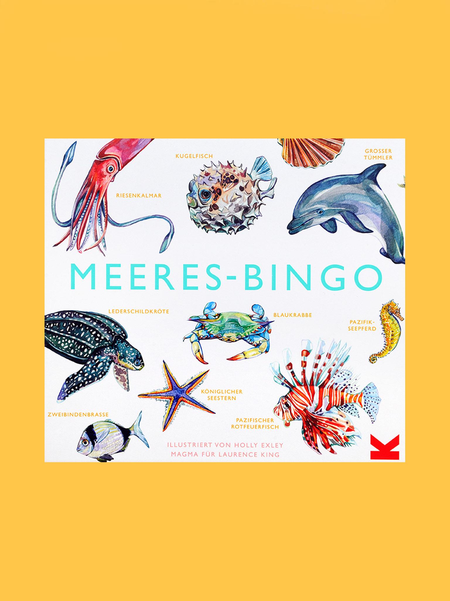 Laurence King Meeres-Bingo