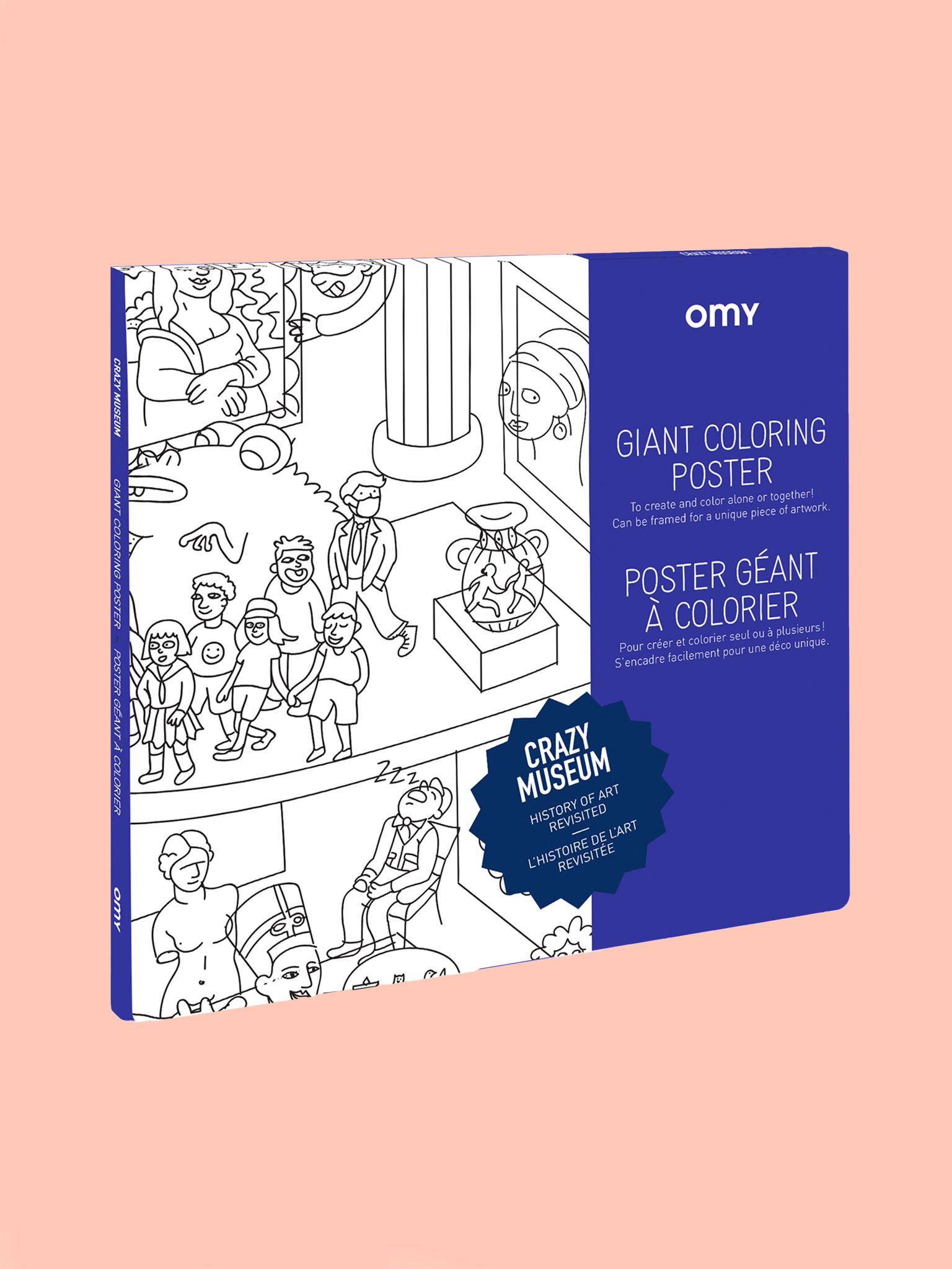 OMY Giant Poster Crazy Museum