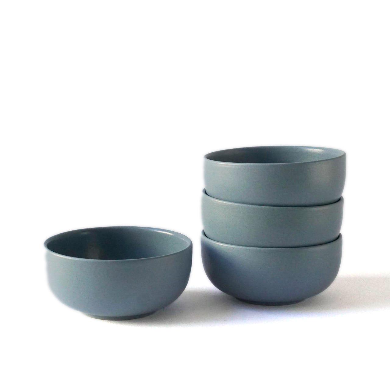 Indre Ceramics Fjord Blue Matt Schale Mini