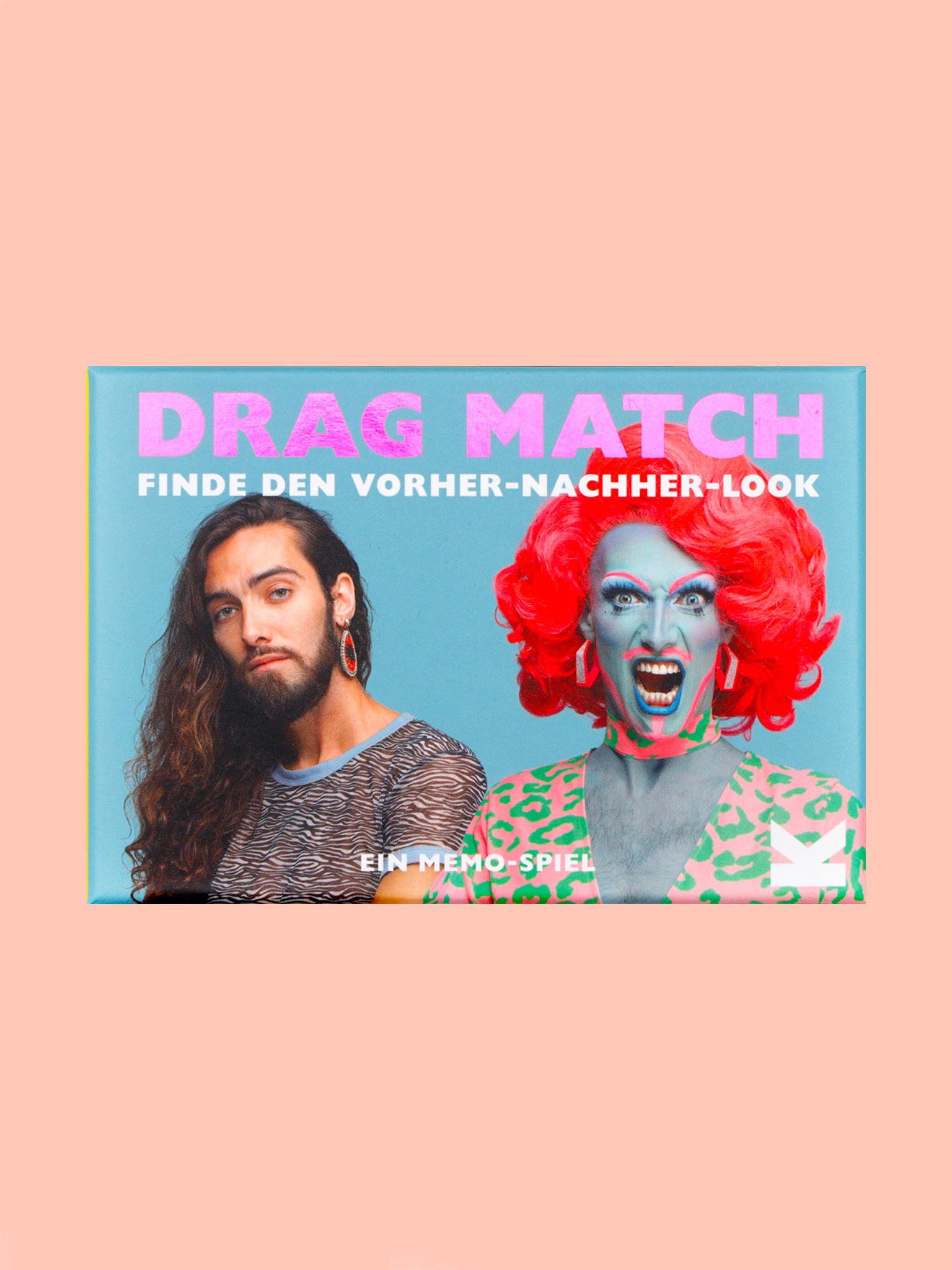 Laurence King Drag Match