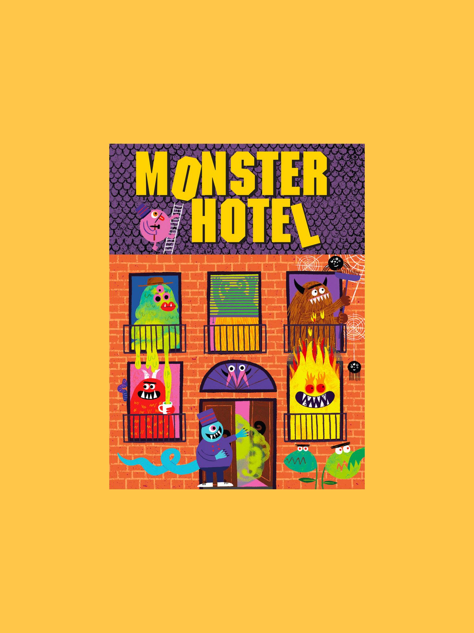 Laurence King Monster Hotel