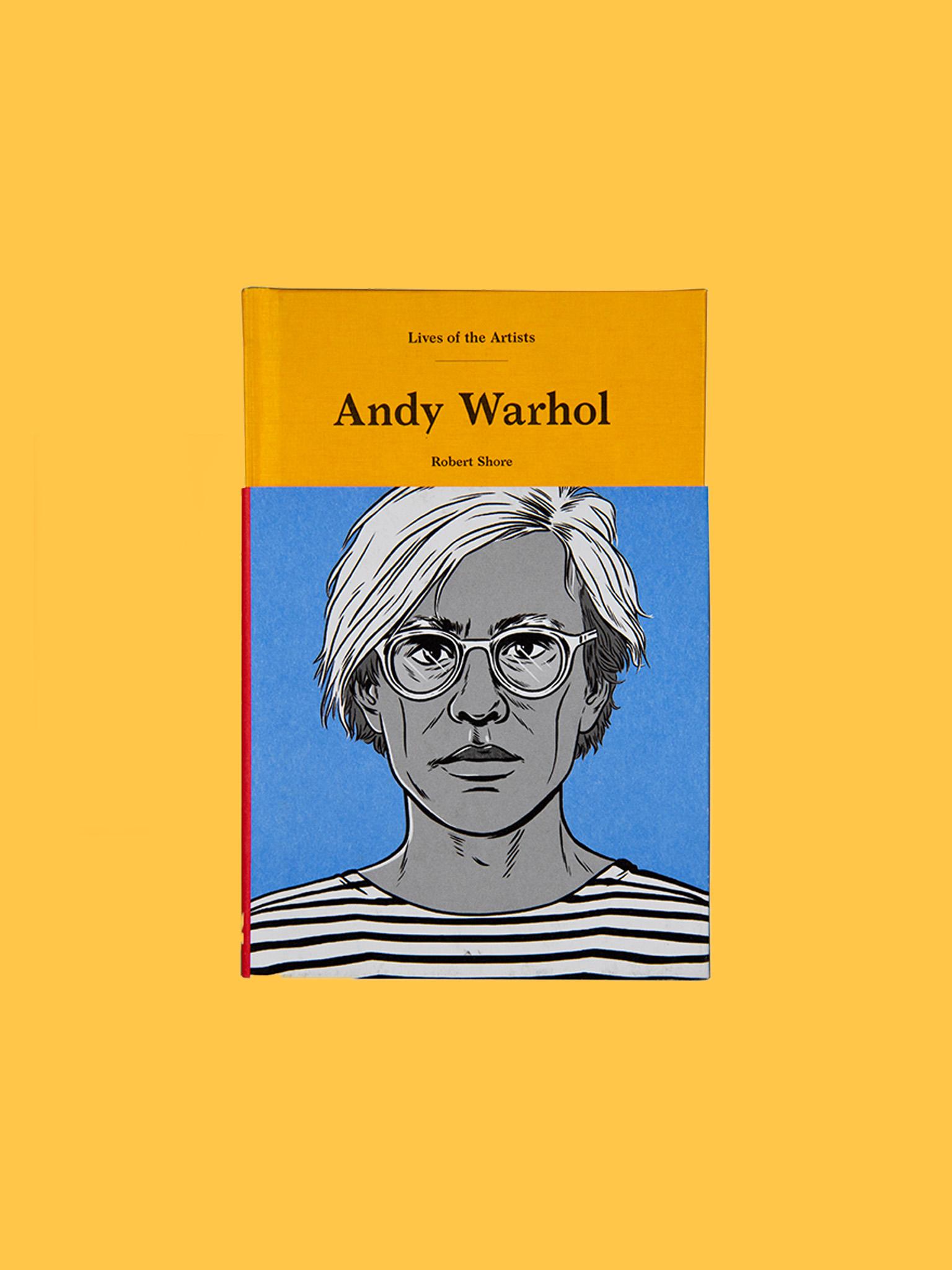 Laurence King Andy Warhol Biografie
