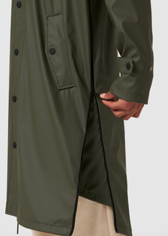 Maium Regenmantel Armygreen