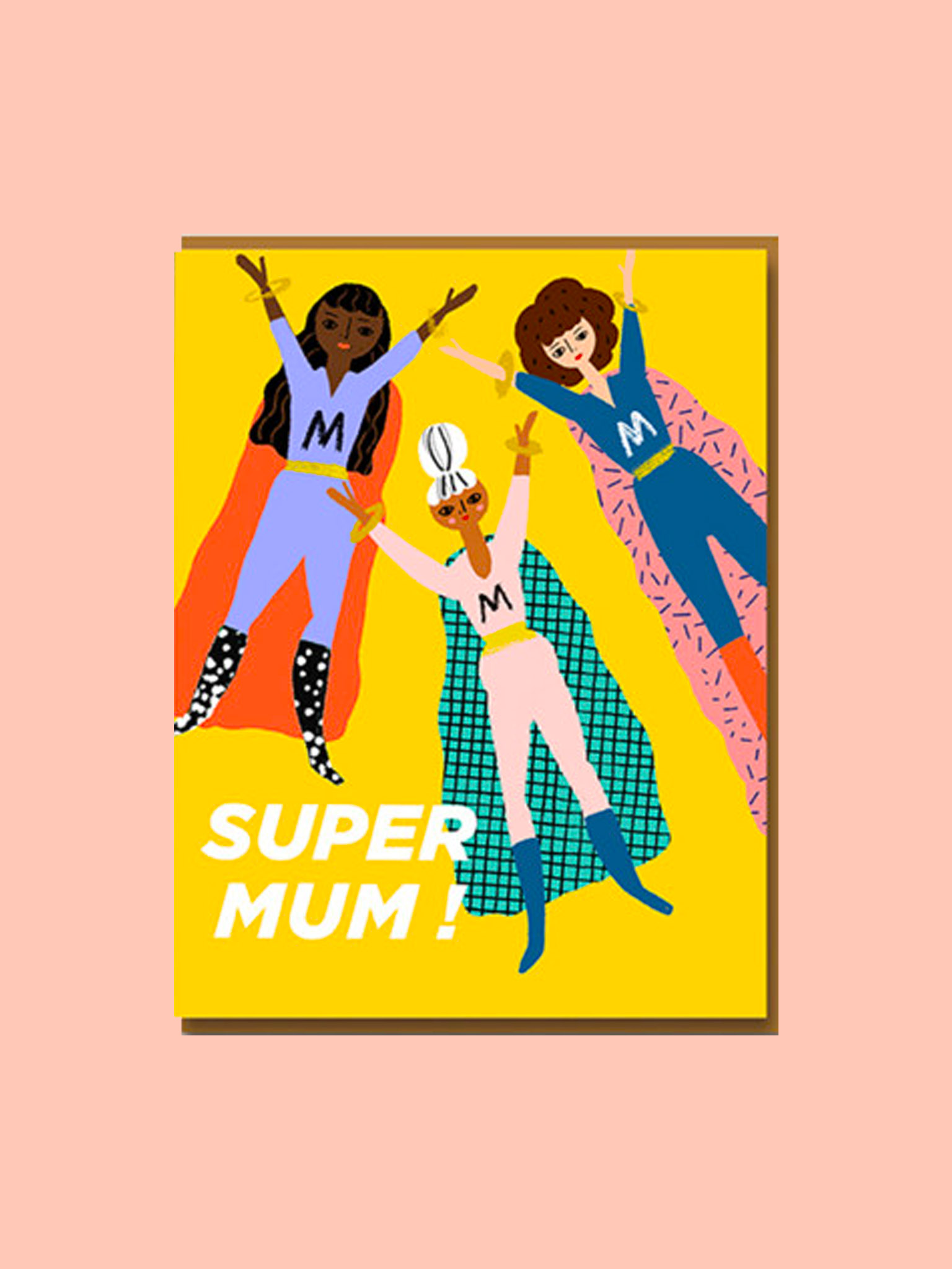 Klappkarte Super Mum