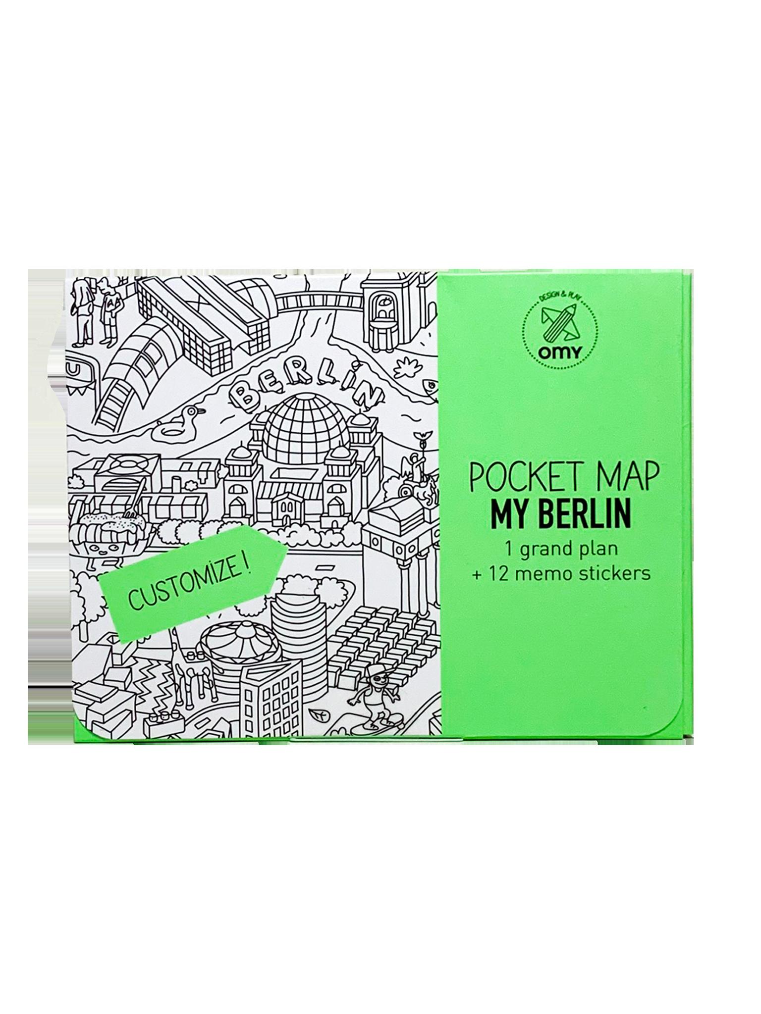 Omy Pocket Map My Berlin