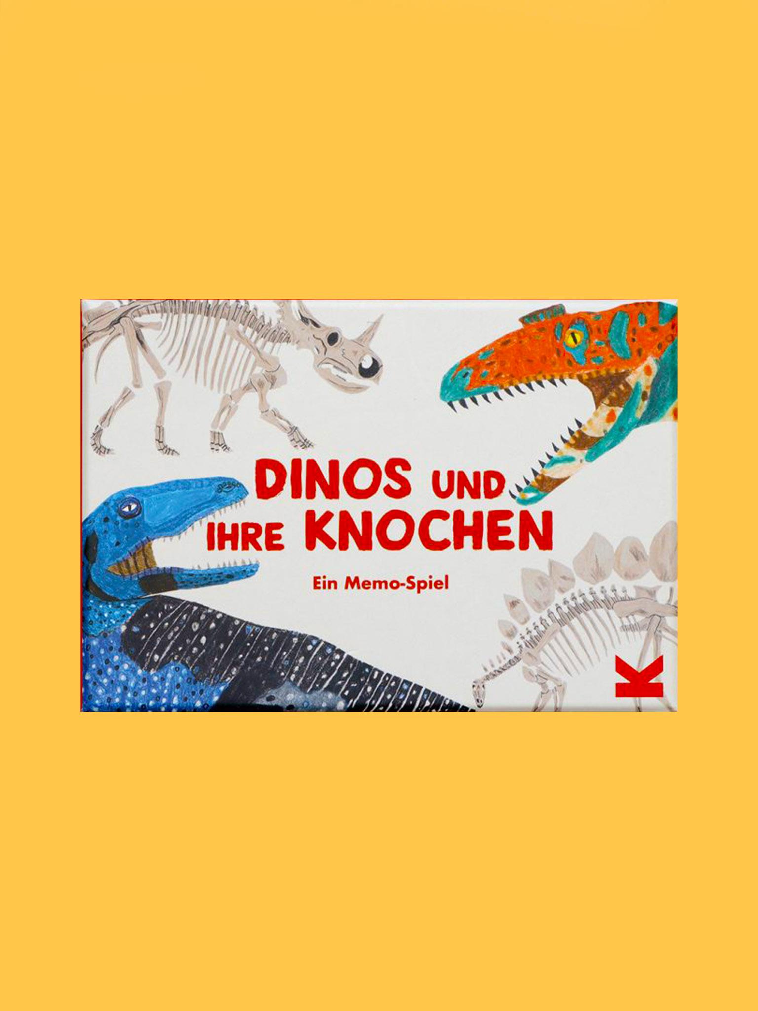 Laurence King Dinos und ihre Knochen