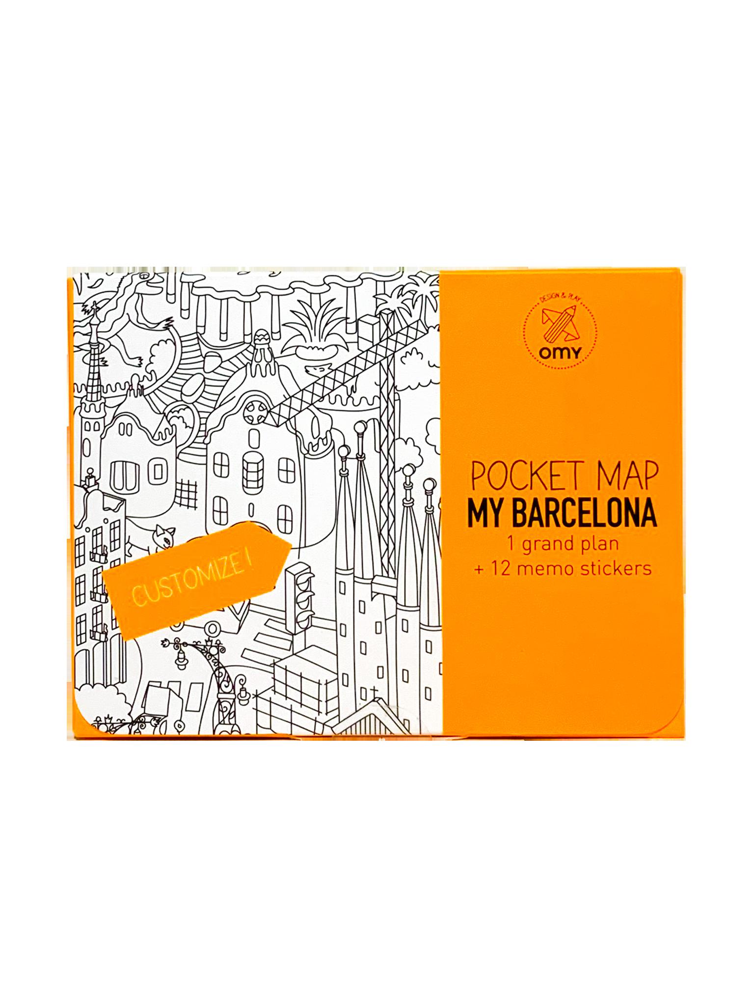 Omy Pocket Map My Barcelona