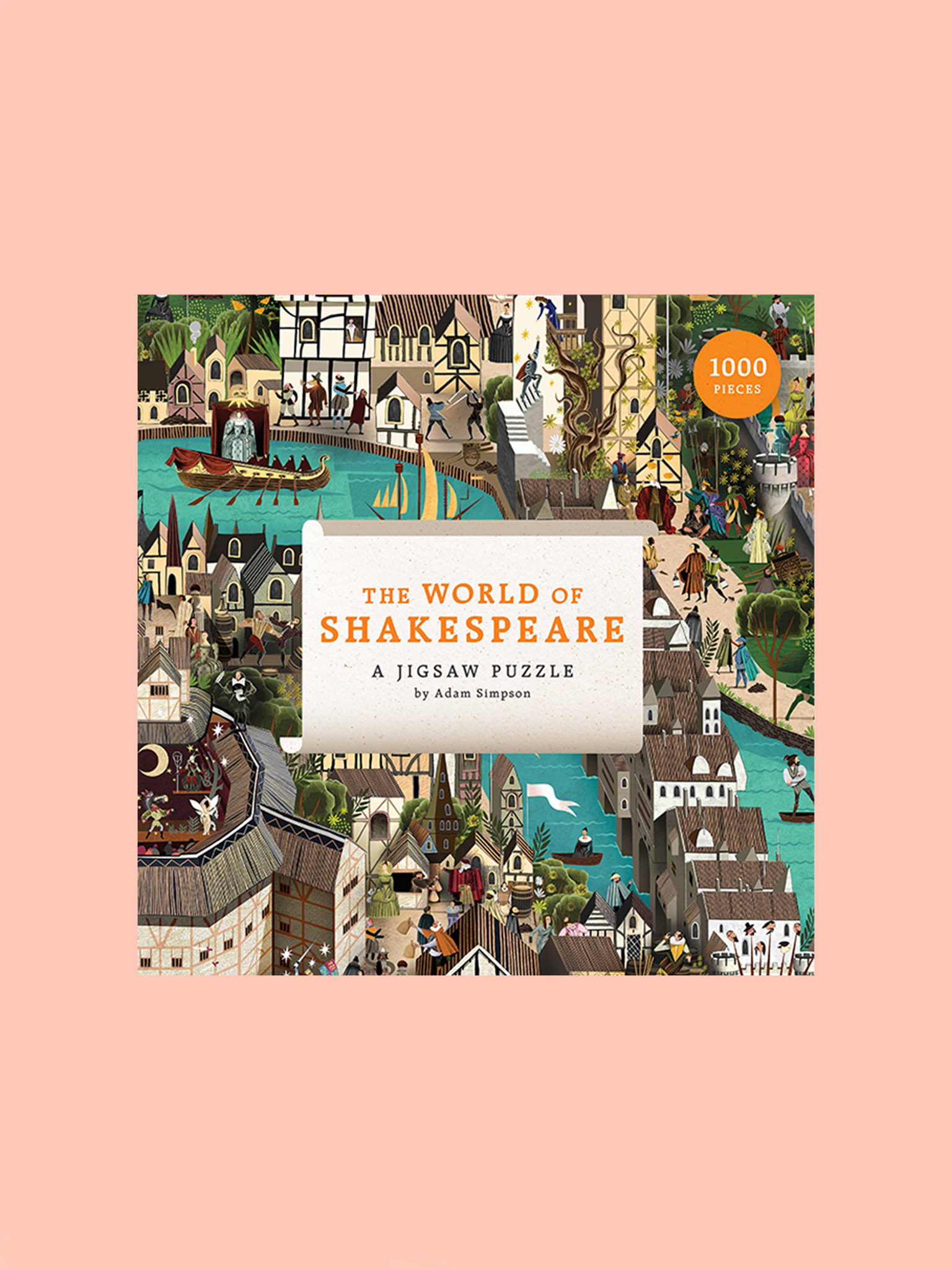 Laurence King The World of Shakespeare Puzzle