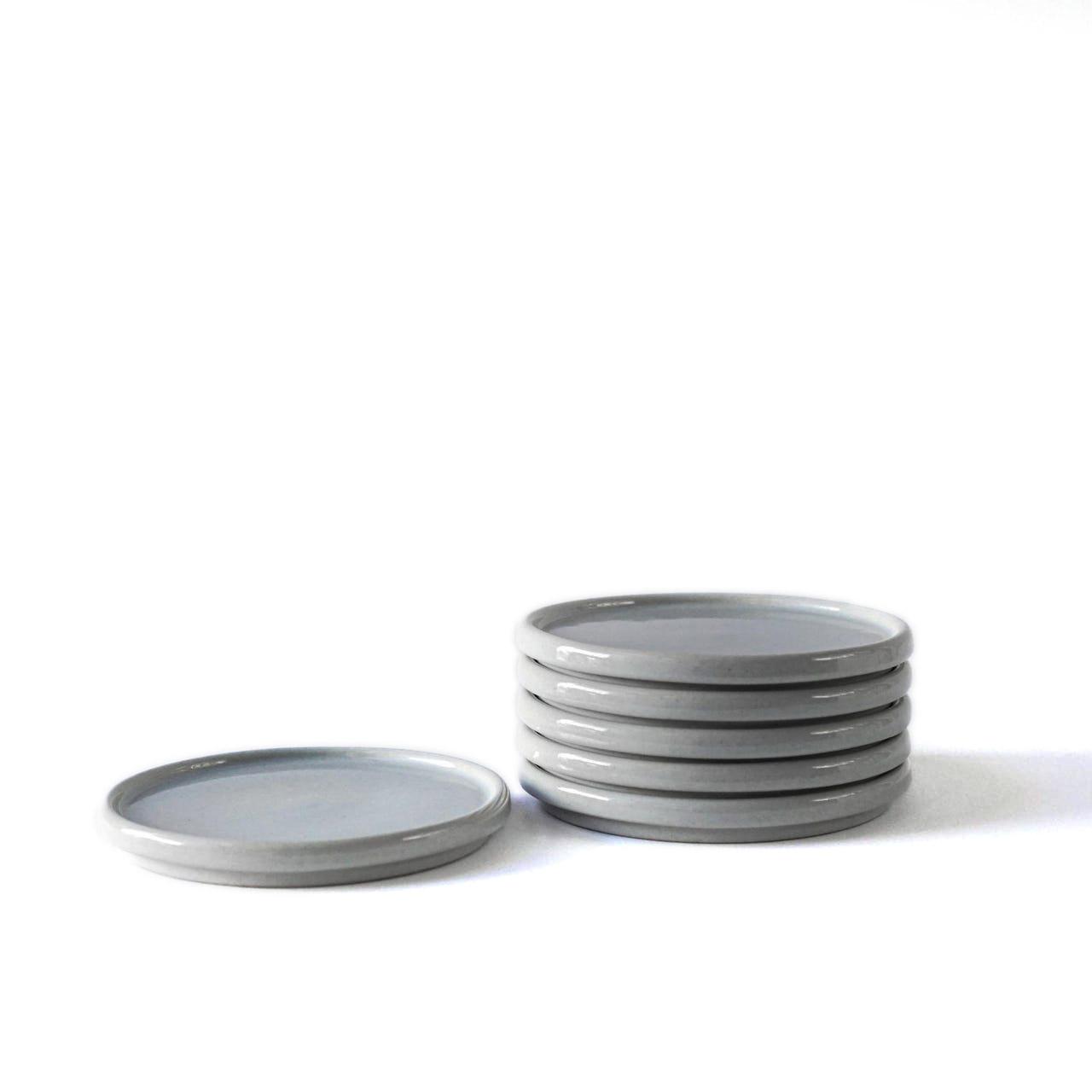 Indre Ceramics Artic Grey Teller/ Deckel Mini