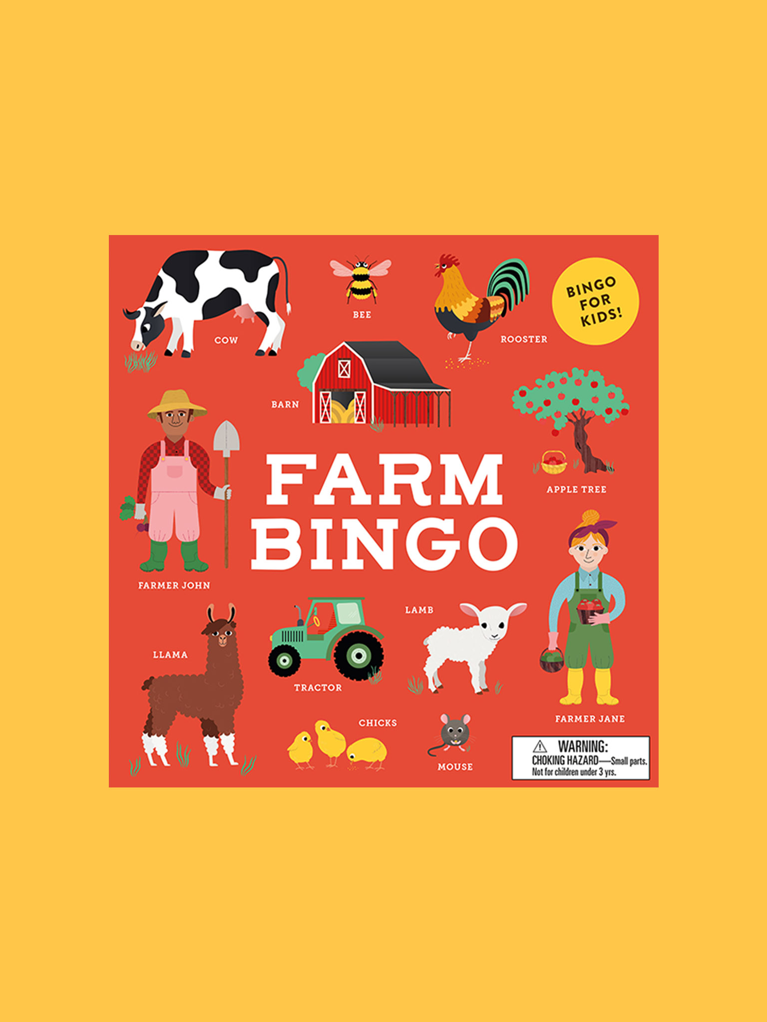 Laurence King Farm Bingo