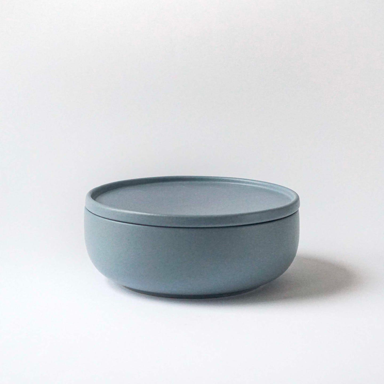 Indre Ceramics Fjord Blue Matt Schale 16cm