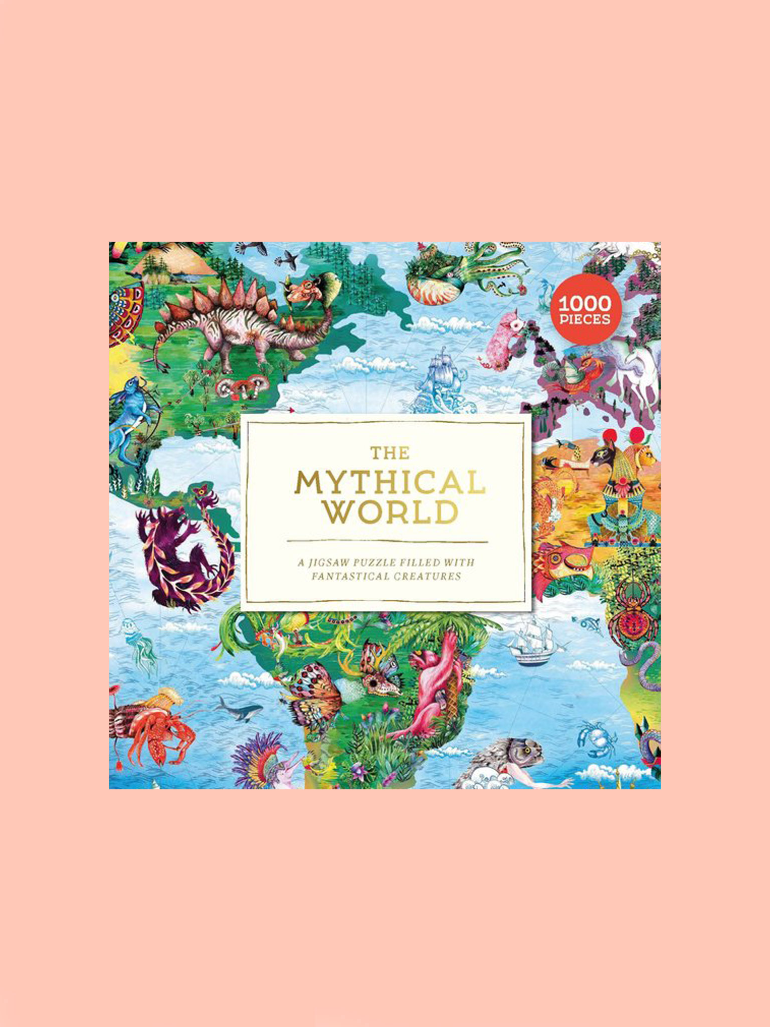 Laurence King Mythical World Puzzle
