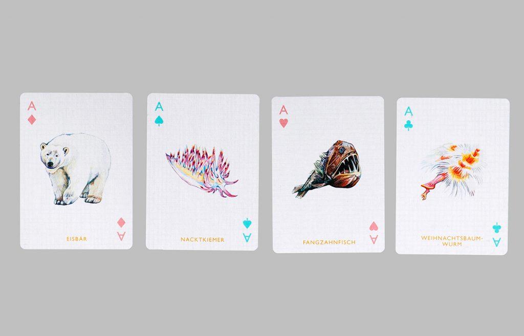 Laurence King Meeres Spielkarten