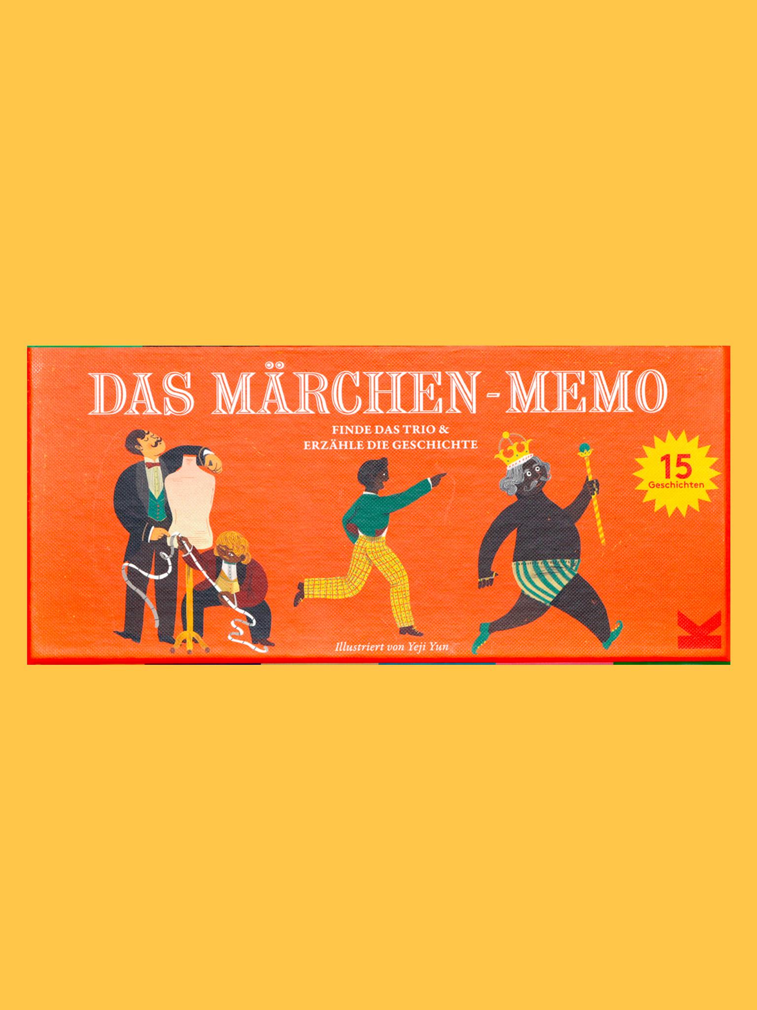 Laurence King Märchen Memo
