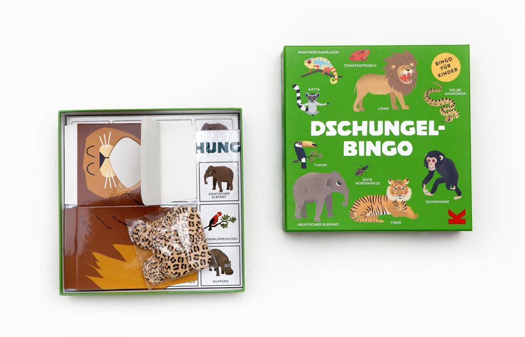 Laurence King Dschungel Bingo