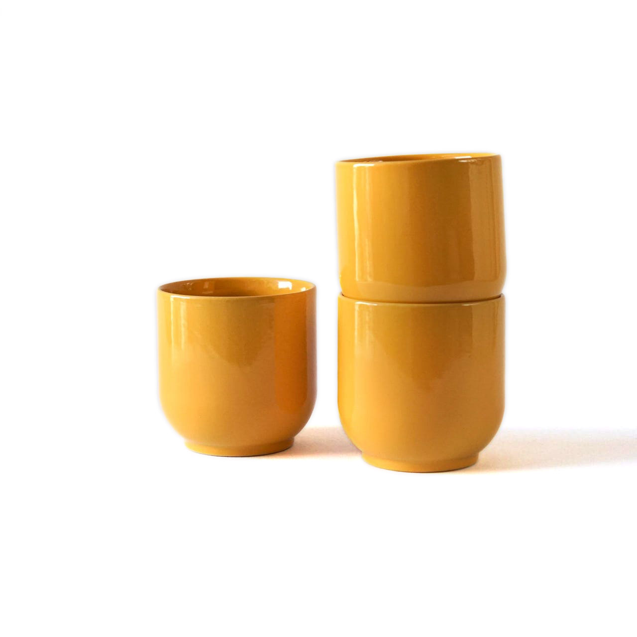 Indre Ceramics Late Summer Yellow Becher