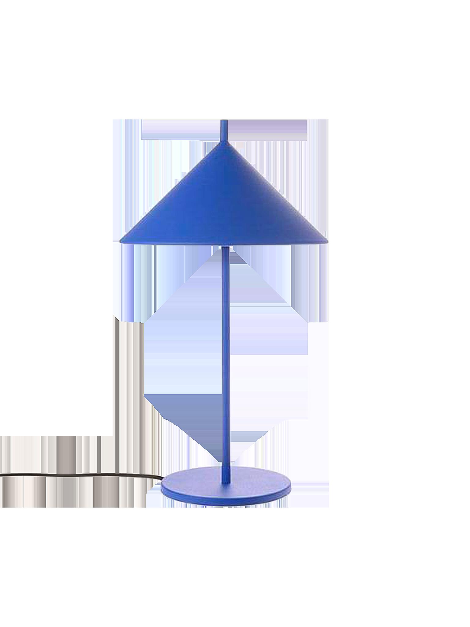 HK Living Tischlampe Blau