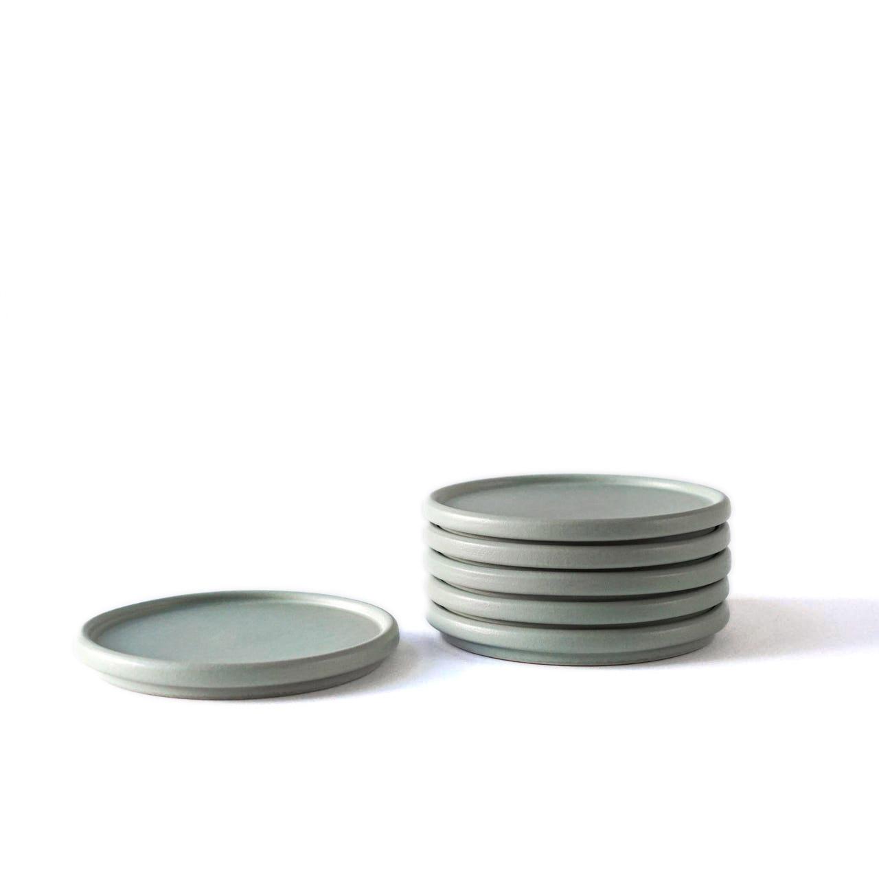 Indre Ceramics Sage Green Teller/ Deckel Mini