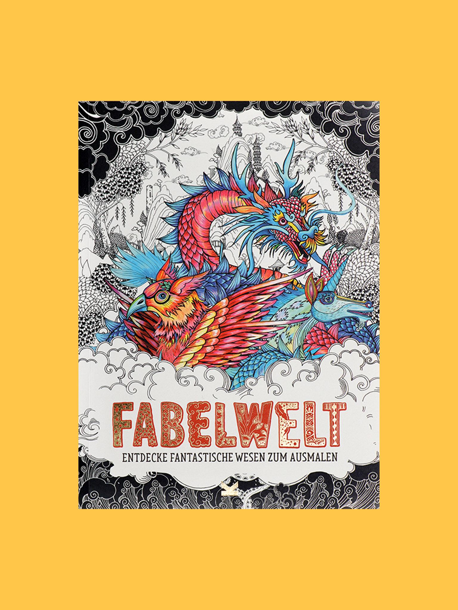 Laurence King Fabelwelt Ausmalbuch
