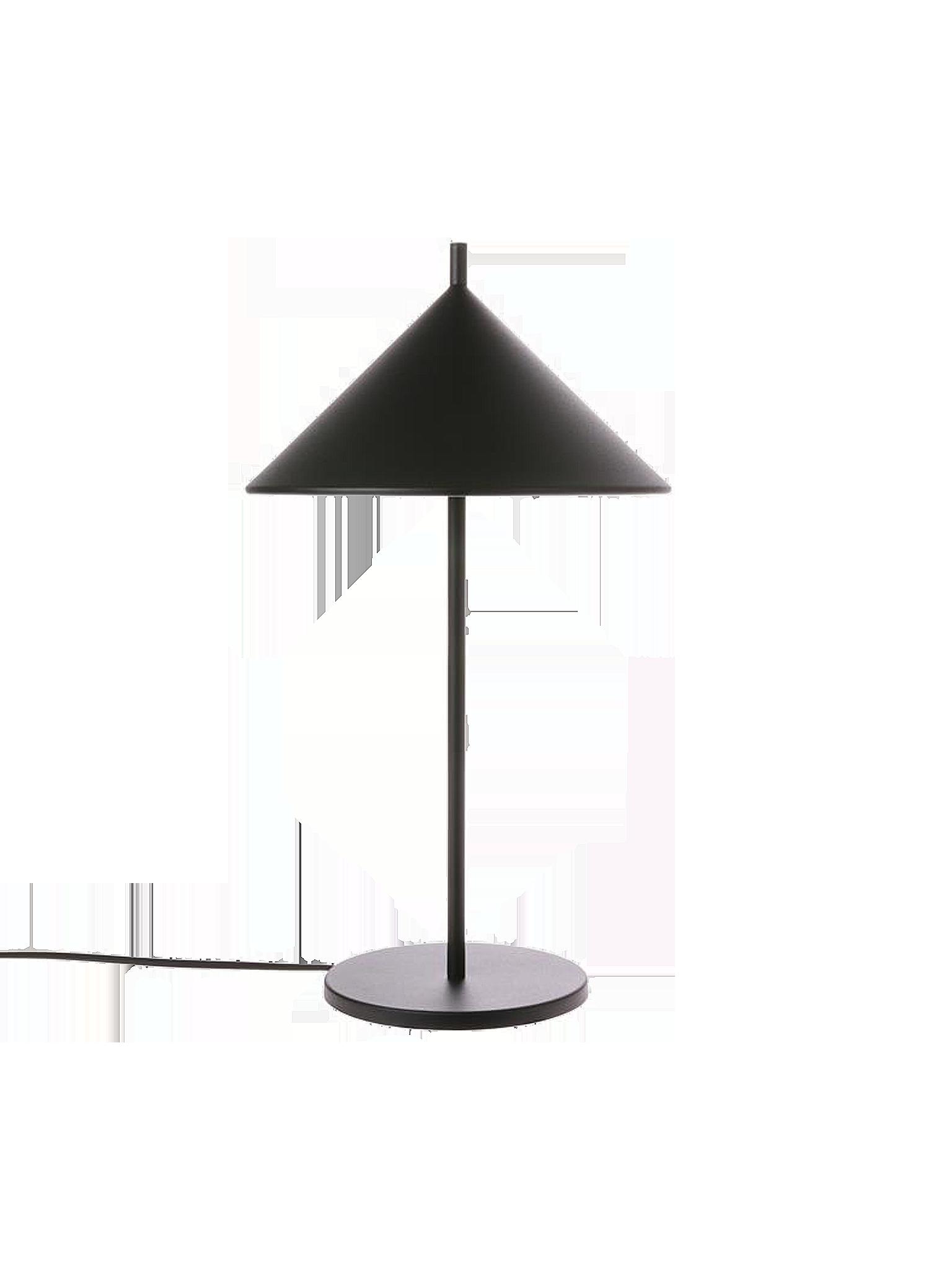 HK Living Tischlampe Schwarz