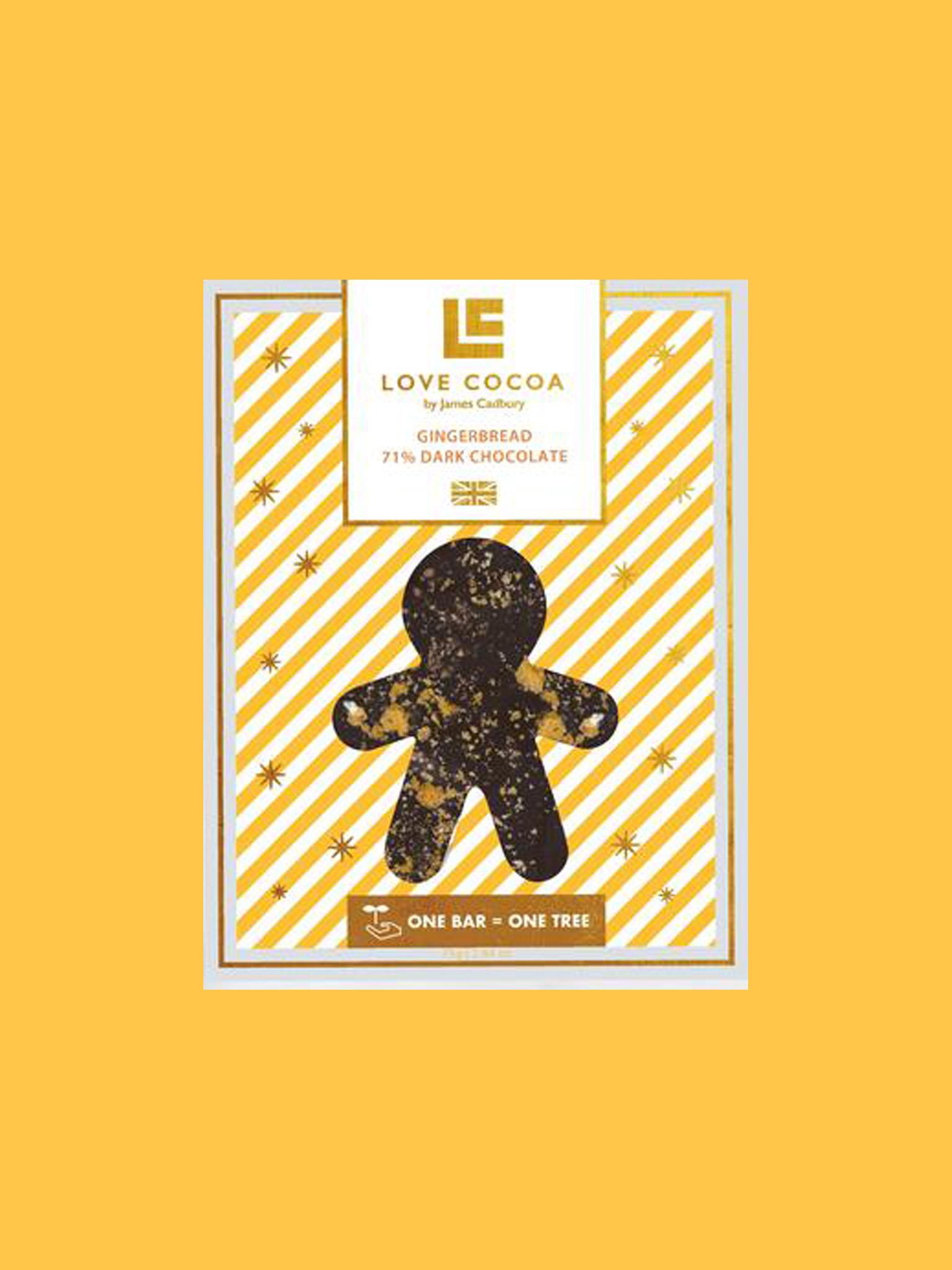 Love Cocoa X-Mas Gingerbread Dark Chocolate