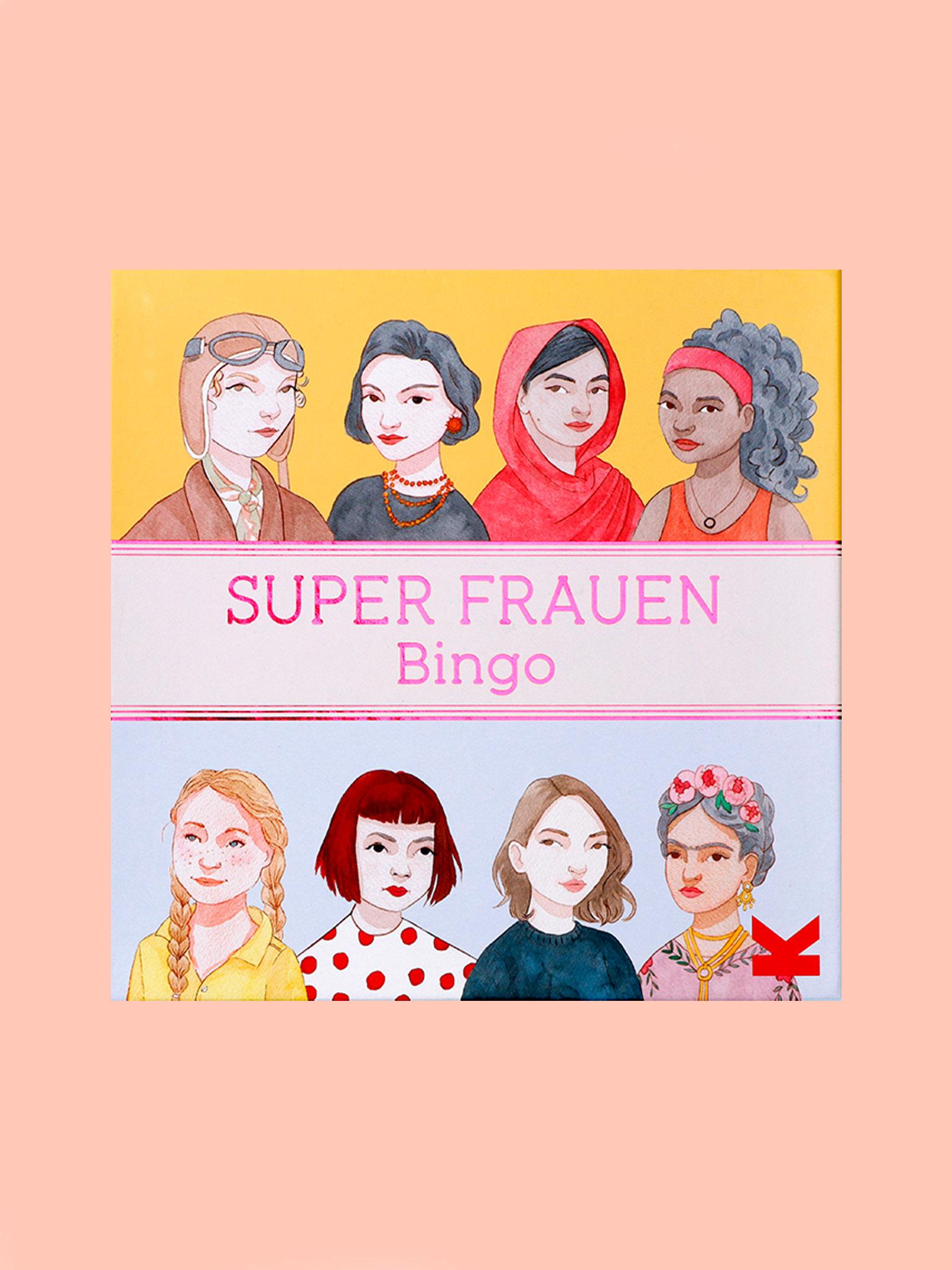 Laurence King Super Frauen Bingo