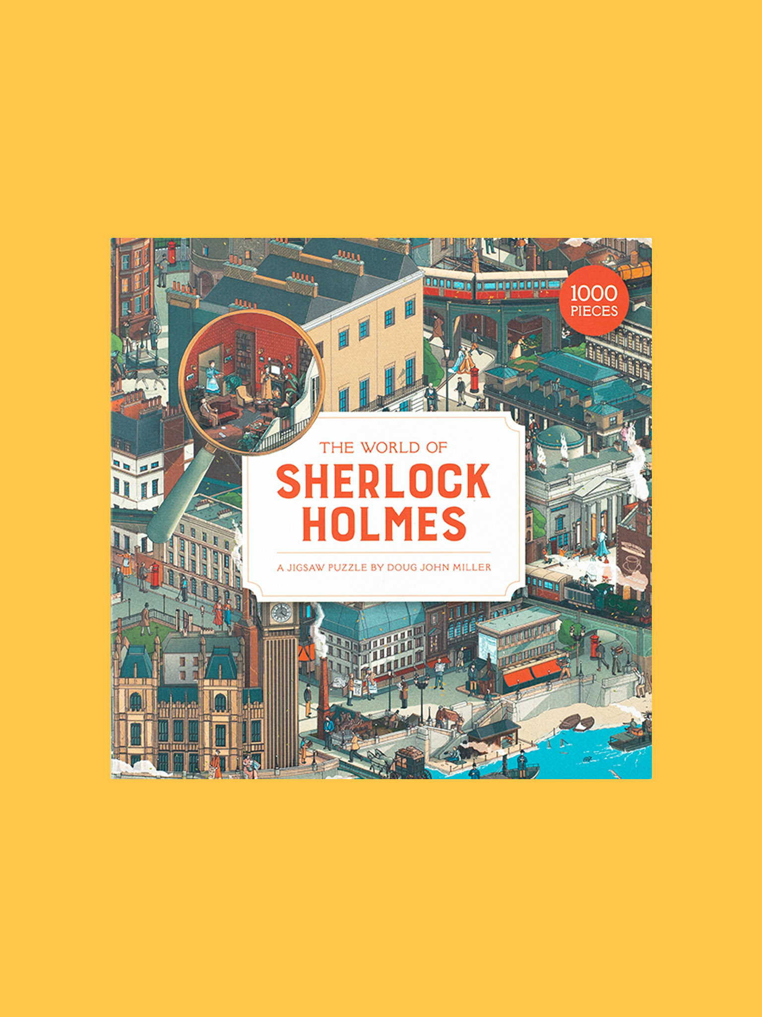 Laurence King The World of Sherlock Holmes Puzzle