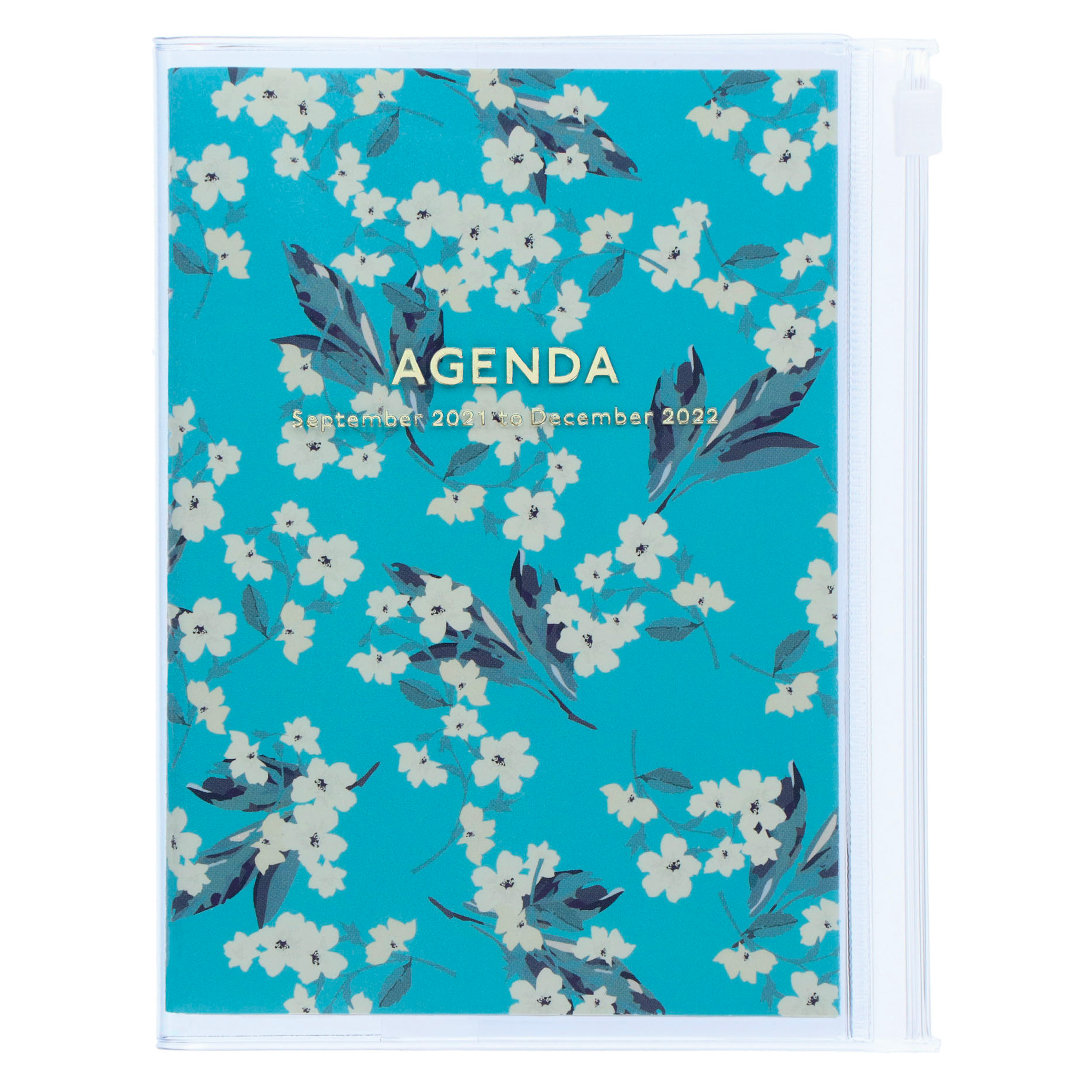 STORAGE.IT 2022 Diary A6 Flower Turquoise