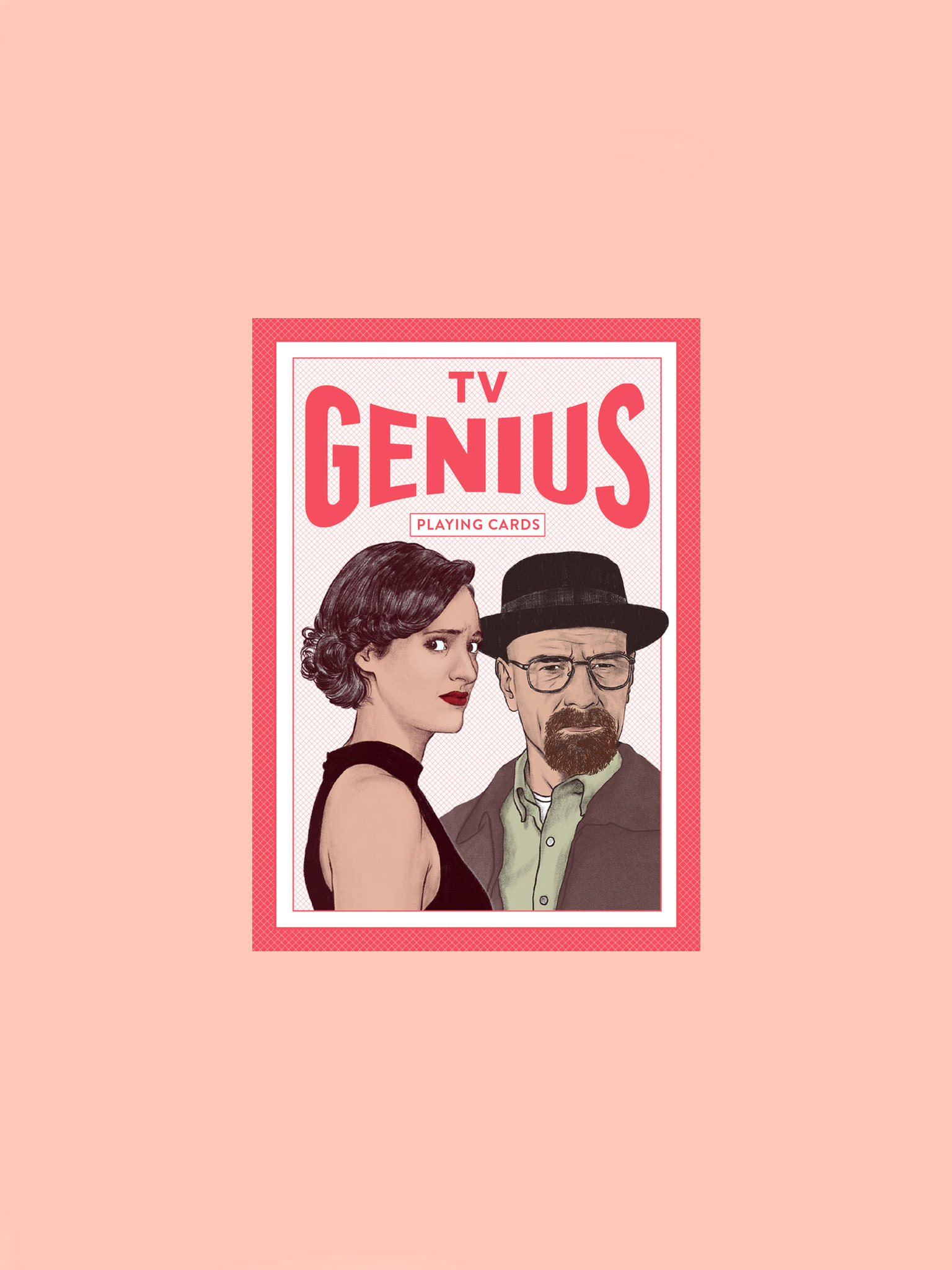 Laurence King Genius TV Cards