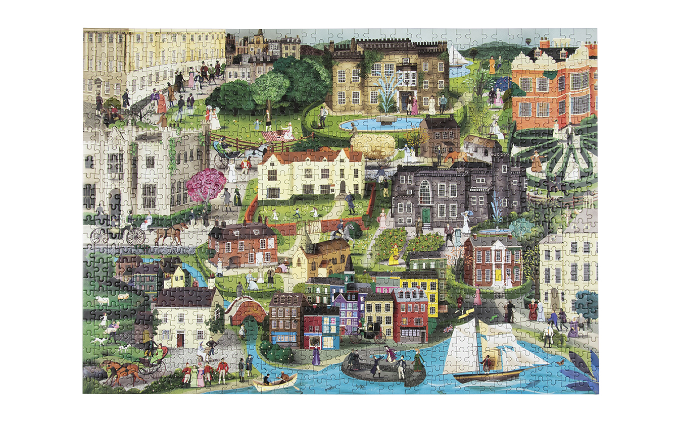 Laurence King  The World of Jane Austen Puzzle