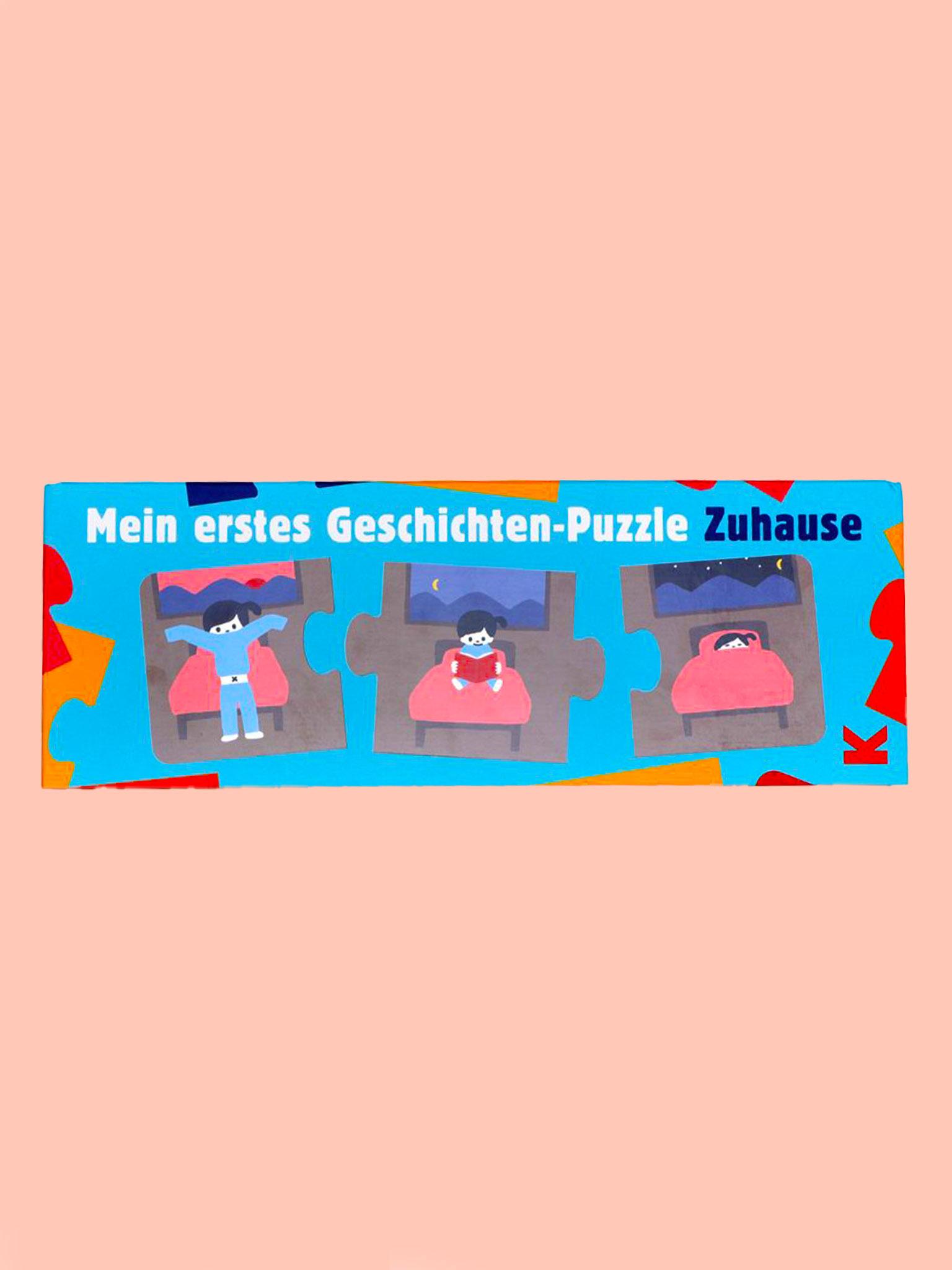 Laurence King Geschichten-Puzzle Zuhause