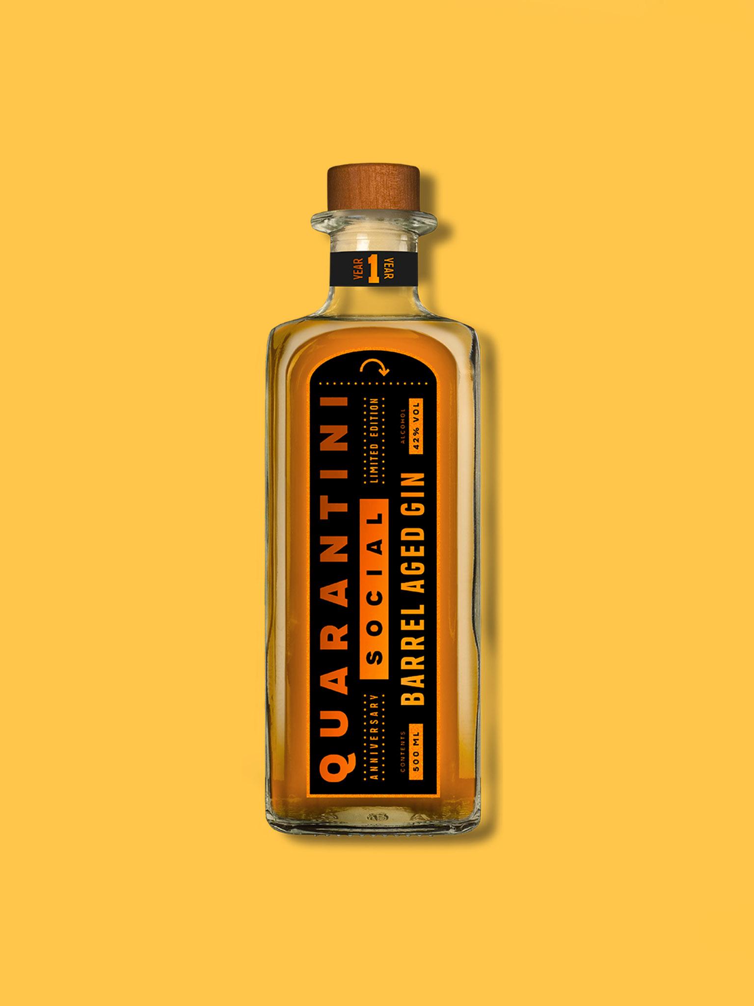 Quarantini Barrel Aged Gin