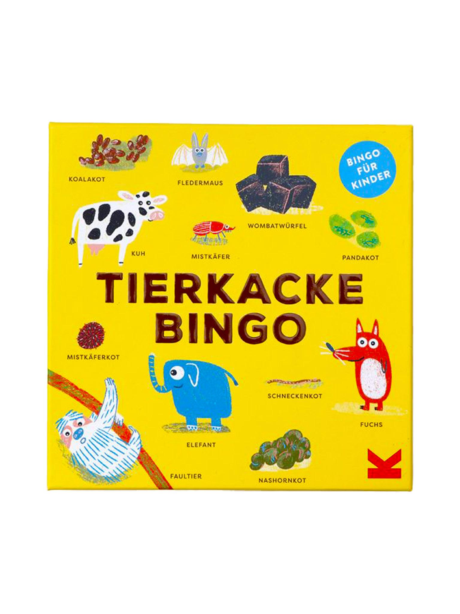 Laurence King Tierkacke Bingo