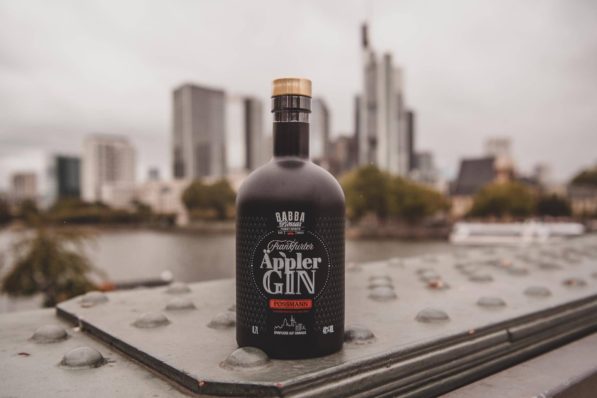 Babba Rossas Äppler Gin