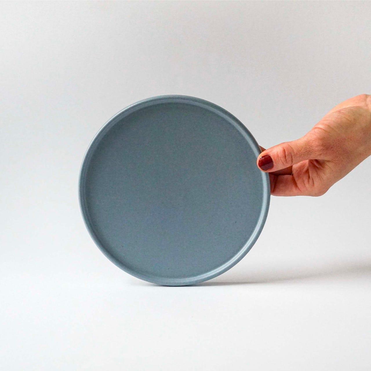 Indre Ceramics Fjord Blue Matt Teller/ Deckel 16cm