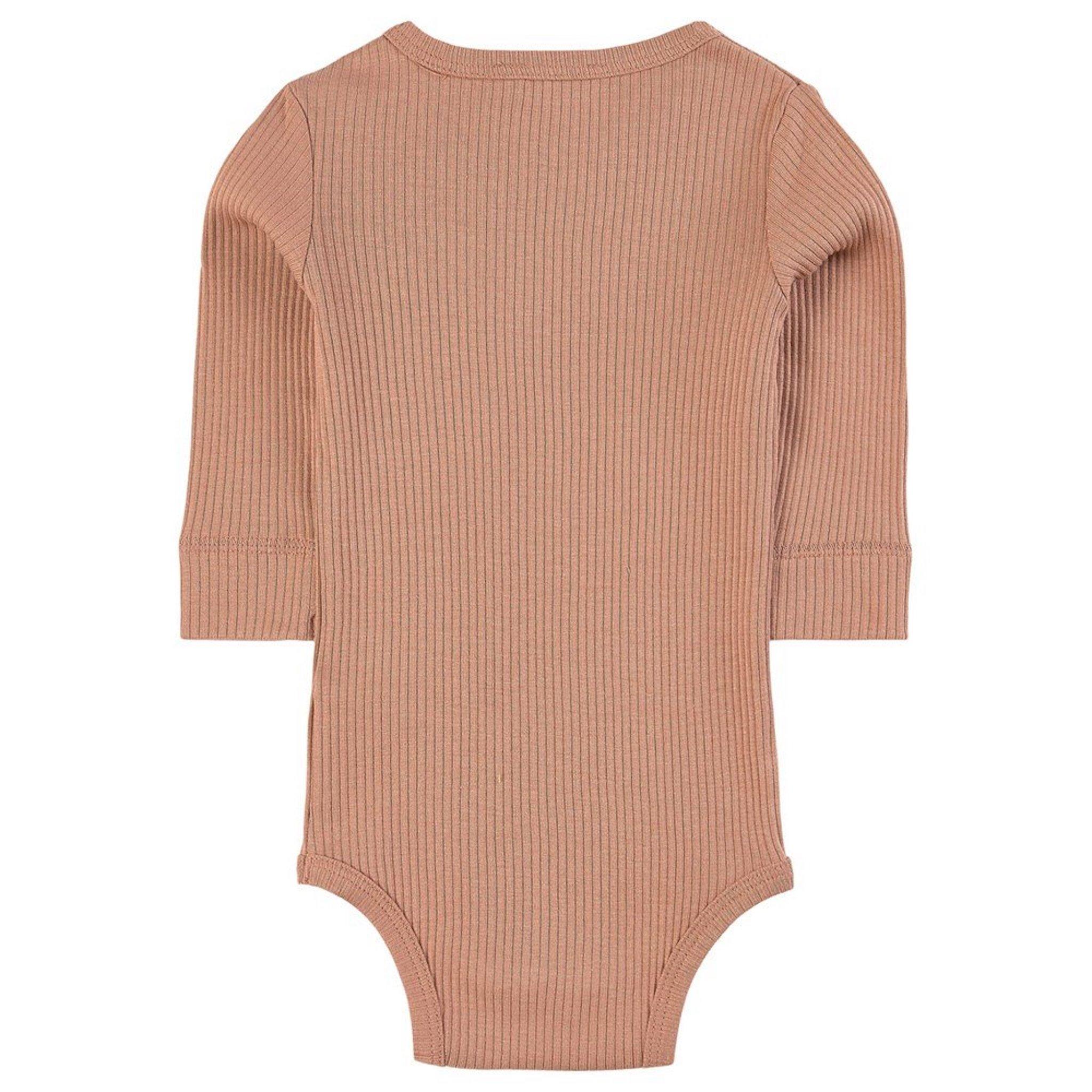 MarMar - Plain Body LS - rose brown