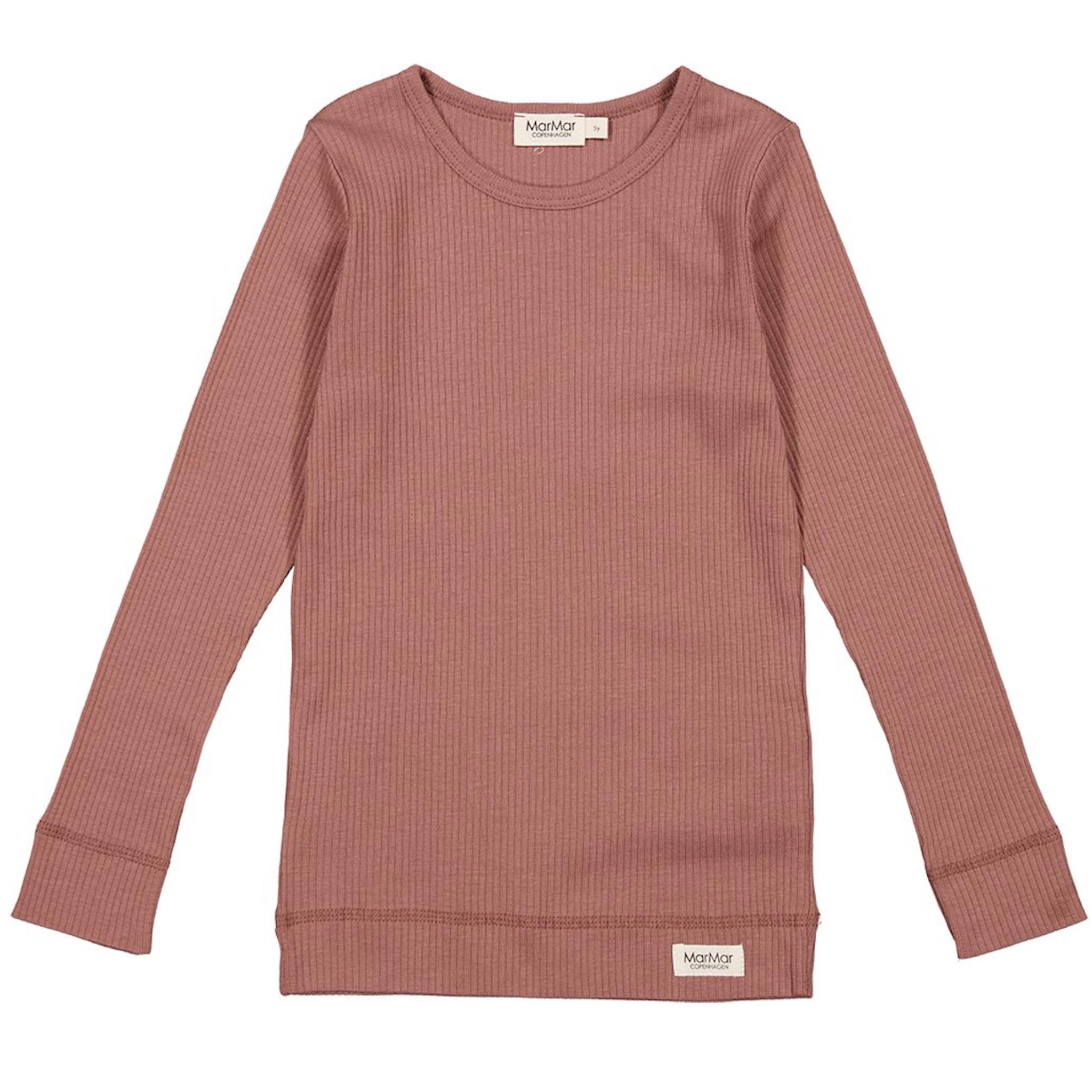 MarMar - Plain Tee LS - madeira rose