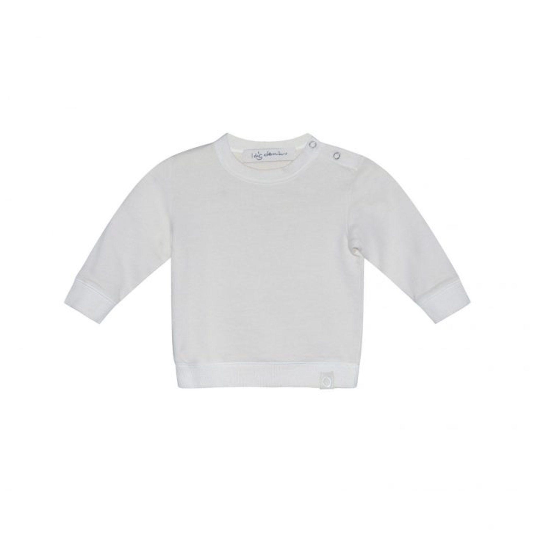 I dig denim - Jean Sweater Organic - pearl